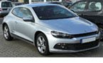 Volkswagen Scirocco Tailored Boot Mat