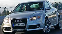 Audi RS4 Tailored Car Mats
